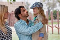 "Absent mother Julie (Jessica Lindsey) comes back into the lives of Valentin (Eugenio Derbez) and daughter Maggie (Loreto Peralta) in ""Instructions Not Included.""Pantelion Films"