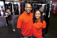 Russ and Cheryl Williamson opened the Denton location of Title Boxing Club in December.DRC