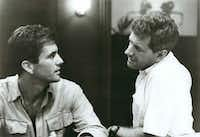 """Guy Hamilton (Mel Gibson, left) and Pete Curtis (Michael Murphy) are foreign correspondents covering the 1965 Indonesian civil war in """"The Year of Living Dangerously"""" (1982).MGM"""