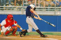 Ryan senior Tanner Whitlock bats against Waco Midway on Friday in Midlothian.DRC/David Minton