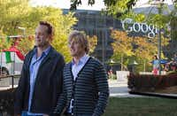 "Out-of-work salesmen Billy (Vince Vaughn, left) and Nick (Owen Wilson) land a coveted slot for rookies at Google in ""The Internship.""20th Century Fox"