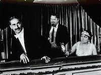 "Groucho Marx, Sigfried Rumann and Margaret Dumont appear in 1935's ""A Night at the Opera,"" part of ""The Best of Warner Brothers: 100 Film Collection.""Warner Bros./MGM"