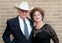 Jerry and Gwen Vawter of Aubrey were honored as 50-Year Legacy Breeders last month at the American Quarter Horse Hall of Fame & Museum in Amarillo.Courtesy photo