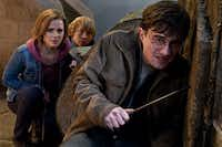 "Emma Watson, Rupert Grint and Daniel Radcliffe star in ""Harry Potter and the Deathly Hallows: Part 2."" The final two films of the Potter series are available in an ""Ultimate Edition"" — or, for the die-hard fan, there's the 31-disc ""Harry Potter Wizard's Collection.""Warner Bros. Pictures"