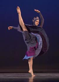 "Cassie Hobbs performs as the Arctic Wind during last year's production of ""A Gift for Emma.""Courtesy photo"