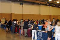 Business owners attend the HUBEXPO in Irving earlier this year.Courtesy photo