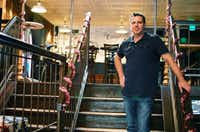 Charlie Nolet, owner of The Loophole Pub on the Square, is working with a consultant and contractor on ways to make the 150-year-old building accessible.David Minton - DRC