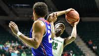 North Texas guard  A.J. Lawson was one of the top young players in Conference USA as a freshmanDRC/Jeff Woo