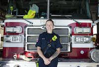 "<p><span style=""font-size: 1em; background-color: transparent;"">Tracy Whitten has been a firefighter with the Denton Fire Department for nearly two years and recently founded the North Texas Women Firefighter organization.</span></p>DRC/Caitlyn Jones"