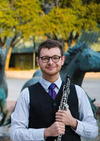 Jonathan Thompson, winner of the 2017-18 Presser Graduate Music Award.UNT