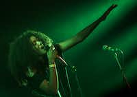 Sam Lao performs on Friday, February 13, 2015 at Trees in Dallas, Texas.   (Ashley Landis/The Dallas Morning News)Staff Photographer