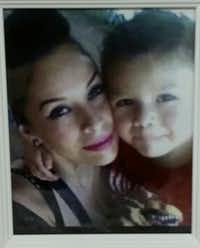 Maria Isabel Romero-Medina is shown with her son, Alek Lara.Courtesy photo