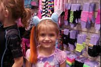 Photo of Moriah Modisette, the five year-old little girl that was killed in a car wreck in Denton on Christmas Eve.