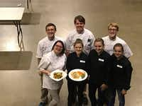 These 4-H members from Denton County participated in the Food Challenge at the 71st Texas 4-H Roundup held June 6-8 at Texas A&M University in College Station.Courtesy photo