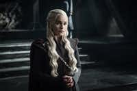 """<p>Emilia Clarke as D<span style=""""font-size: 1em; background-color: transparent;"""">aenerys Targaryen</span><span style=""""font-size: 1em; background-color: transparent;"""">in 'Game of Thrones.' Texas fans searched GOT's Targaryen more than any of the other fantasy clans from the hit show online.</span></p>TNS"""