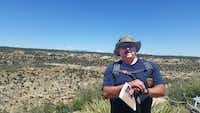 Brian Shackelford, 49, is back on the job as a Corinth firefighter and paramedic after having both shoulders partially replaced with stemless shoulder implants.