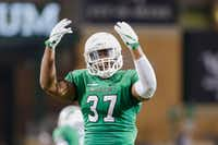 North Texas linebacker Brandon Garner is well aware of what a win over SMU would mean for UNT's program. The Mean Green have only beaten SMU in a game played outside of Denton twice in program history. SMU leads the all-time series 30-5-1.DRC