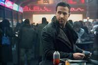 Ryan Gosling in a scene from <i>Blade Runner 2049.</i>Warner Bros.