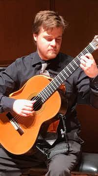 Guitarist Chuch Allred will be the guest soloist for the Flower Mound Community Orchestra at the season-opening concert at 7 p.m. Saturday, Oct. 21 at Trietsch Memorial United Methodist Church, 6101 Morriss Rd.Flower Mound Community Orchestra