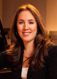 The University of North Texas  College of Music's new director of career development and entrepreneurship in music, Fabiana Claure, will help develop music entrepreneurship curriculum courses for the coming fall.