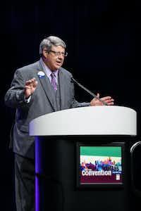 Denton ISD school board member and TASB president Charles StaffordCourtesy Photo