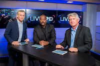 Live PD Left to right: Dan Abrams, Kevin Jackson, Rich Emberlin ABC s Dan Abrams, alongside Dallas Police Department Detectives Rich Emberlin and Kevin Jackson will guide viewers through the night, giving insight to what audiences are seeing in real time, bouncing minute-by-minute between the featured police departments and offering an inside look at each live incident.  Photo by Scott Gries Copyright 2016Scott Gries