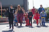 Children and adults dress up in their Halloween costumes at the Day of the Dead Festival, Saturday, October 29, 2016, in Denton, Texas, Jeff Woo/DRCDRC