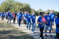 """Singing Oaks Church of Christ hosted """"Walk4Water"""" on Sunday at Denton's South Lakes Park to raise money to dig wells in Tanzania and Haiti.DRC"""