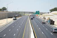 Construction on Interstate 35E is nearly completed as additional lanes opened recently in both directions.DRC