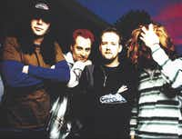 The Nixons, shown in a photo from the mid-'90s, are back to rock Denton on Thursday night at Rockin' Rodeo.