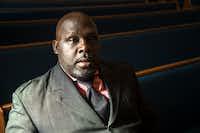 The Rev. Cedric Chambers, pastor of Mt. Calvary Baptist ChurchDRC