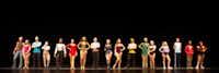 "The cast of Guyer High School's 2017 production of ""A Chorus Line""Denton ISD"