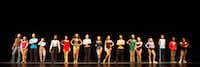 "Guyer High School wraps up its run of ""A Chorus Line"" this weekend."
