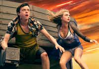 (Left to right.)    Dane DeHaan, and Cara Delevingne star in EuropaCorp's  <i>Valerian and the City of a Thousand Planets</i>.TFI Films Production