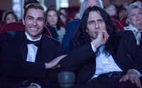 James Franco and Dave Franco  in <i>The Disaster Artist</i>.A24