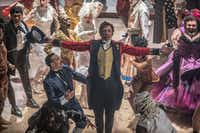 P.T. Barnum (Hugh Jackman) comes alive with the oddities in <i>The Greatest Showman.</i>Twentieth Century Fox