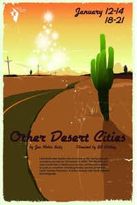 "Denton Community Theatre will present Jon Robin Baitz's ""Other Desert Cities"" in January.Denton Community Theatre"