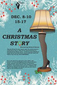 Denton Community Theatre celebrates the holidays with Philip Grecian's stage adaptation of the 1983 film 'A Christmas Story.'Denton Community Theatre