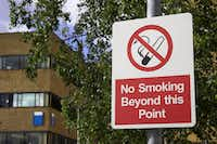 A no smoking warning signGetty Images/iStockphoto