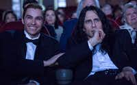 Dave Franco and James Franco in the film, <i>The</i> <i>Disaster Artist.</i>