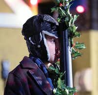 Cole Robbins plays as Flick in <i>A Christmas Story</i>. The stage adaptation keeps favorite scenes from the 1983 film.DRC
