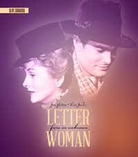 Olive Films is re-releasing the 1948 film 'Letters From An Unknown Woman.' The film follows a man as he receives letters from a former flame and learns of the depth of his onetime lover's feelings for him.  Louis Jourdan plays the pianist receiving the letters, and Joan Fontaine portrays his former love.Courtesy photo