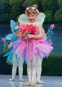 "Olivia Strittmatter appears as a faerie in the ""Garden of Dreams"" in ""A Gift for Emma,"" Denton City Contemporary Ballet's holiday fantasia in dance.Courtesy photo"
