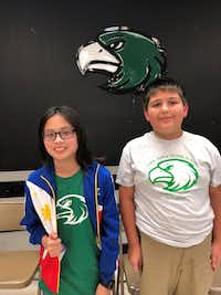 Seventh-grader Matthew Paro and sixth-grader Benjamin High were named the winners of the Lake Dallas ISD Spelling Bee. The boys will represent the district at the Denton County Spelling Bee in February.Lake Dallas ISD
