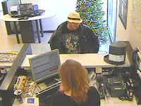 "Flower Mound police are looking for a suspect in a robbery at 2:08 p.m. Saturday, Dec. 23, 2017, at Chase Bank, 4101 Cross Timbers Road in Flower Mound. The suspect was described as a white male, about 5-foot-9 with a ""stocky"" build, glasses and a ""scruffy, red beard and a lot of acne,"" according to police.Courtesy photo"