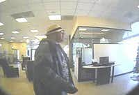 Flower Mound police are looking for a suspect in a robbery Saturday at Chase Bank on Cross Timbers Road.Courtesy photo