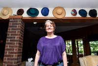 Shelly Tucker and her organized hatsDR-C file photo