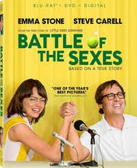 This absorbing biopic about the 1973 tennis match between Billie Jean King (portrayed by a should-be-nominated Emma Stone) and ex-champ and serial hustler Bobby Riggs (an equally as great Steve Carell) was lost in the awards season shuffle. The movie comes out on DVD on Tuesday.Courtesy photo