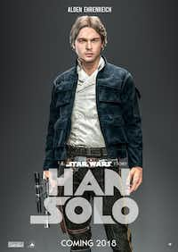 We can't get enough of 'Star Wars.' In 2018, we get to look back on our favorite, slightly smirking, hero, Han Solo.Courtesy photo