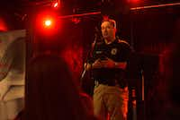 Lt. Chris Summitt with the Denton Police Department speaks about what local law enforcement is doing to prevent human trafficking and gives advice to civilians about how they can help. Denton County Human Trafficking Coalition hosted an event in January at Dan's Silverleaf in Denton to talk about human trafficking in Denton County and North Texas.DRC